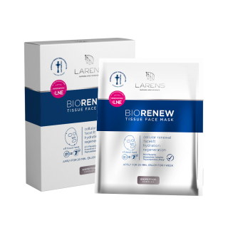 Larens BIO Renew Tissue Face Mask - 4 kusy
